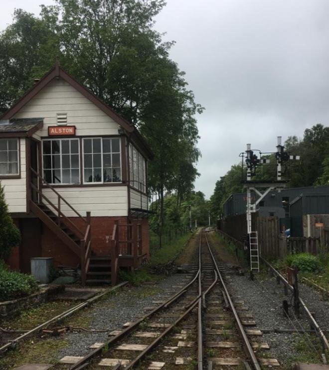 Train track/ Rain track – Walking The Landscape